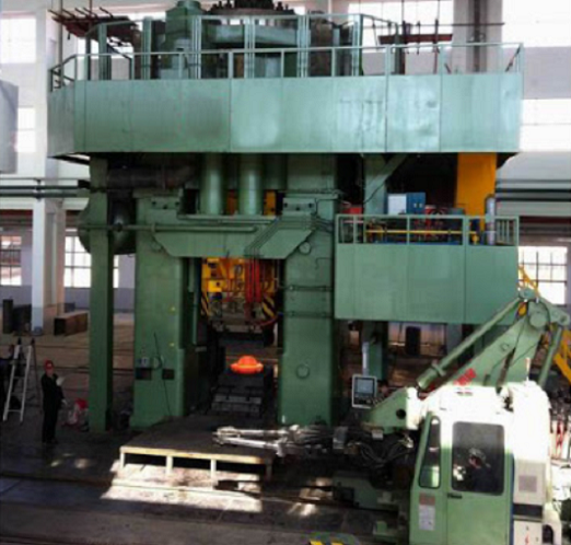 friction drive screw press of the type